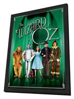 The Wizard of Oz - 27 x 40 Movie Poster - Style L - in Deluxe Wood Frame