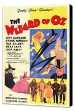 The Wizard of Oz - 11 x 17 Movie Poster - Style C - Museum Wrapped Canvas