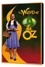 The Wizard of Oz - 11 x 17 Movie Poster - Style D - Museum Wrapped Canvas