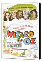 The Wizard of Oz - 11 x 17 Movie Poster - UK Style A - Museum Wrapped Canvas