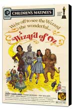 The Wizard of Oz - 27 x 40 Movie Poster - Style E - Museum Wrapped Canvas