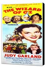 The Wizard of Oz - 14 x 36 Movie Poster - Insert Style A - Museum Wrapped Canvas