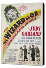 The Wizard of Oz - 27 x 40 Movie Poster - Style G - Museum Wrapped Canvas