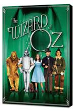 The Wizard of Oz - 27 x 40 Movie Poster - Style L - Museum Wrapped Canvas
