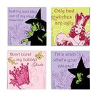 The Wizard of Oz - Tile Magnets 4-Pack