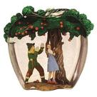 The Wizard of Oz - Dorothy and Scarecrow Apple Tree Statue