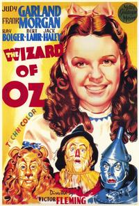 The Wizard of Oz - 27 x 40 Movie Poster - Italian Style A