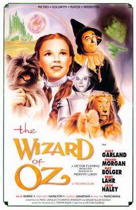 The Wizard of Oz - 11 x 17 Movie Poster - Style H