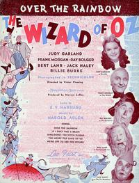 The Wizard of Oz - 11 x 17 Poster - Song Sheet