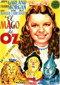 The Wizard of Oz - 11 x 17 Movie Poster - Spanish Style A