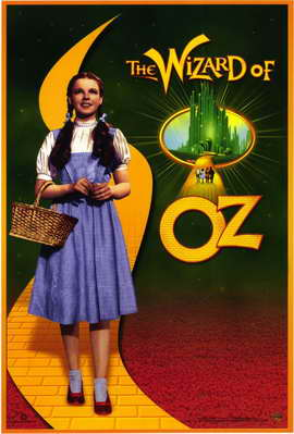 The Wizard of Oz - 11 x 17 Movie Poster - Style D