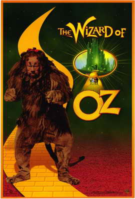 The Wizard of Oz - 11 x 17 Movie Poster - Style E