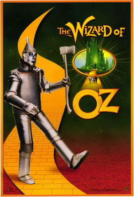 The Wizard of Oz - 11 x 17 Movie Poster - Style G