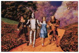 The Wizard of Oz - 27 x 40 Movie Poster - Style C