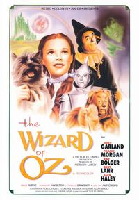 The Wizard of Oz - 43 x 62 Movie Poster - Bus Shelter Style B