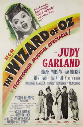 The Wizard of Oz - 27 x 40 Movie Poster - Style G