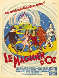 The Wizard of Oz - 43 x 62 Movie Poster - French Style A