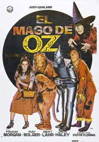 The Wizard of Oz - 11 x 17 Movie Poster - Spanish Style B