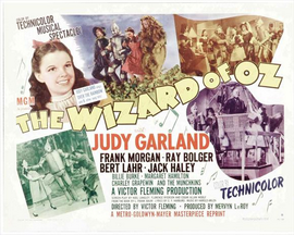 The Wizard of Oz - 11 x 17 Movie Poster - Style P