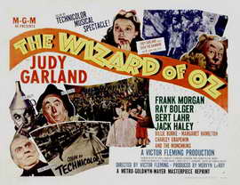 The Wizard of Oz - 11 x 17 Movie Poster - Style R
