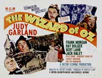 The Wizard of Oz - 27 x 40 Movie Poster - Style K