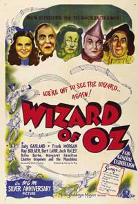 The Wizard of Oz - 27 x 40 Movie Poster - Australian Style A