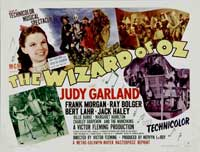 The Wizard of Oz - 22 x 28 Movie Poster - Half Sheet Style A