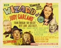 The Wizard of Oz - 30 x 40 Movie Poster - Style B
