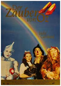 The Wizard of Oz - 11 x 17 Movie Poster - German Style B