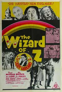 The Wizard of Oz - 11 x 17 Poster Australian Style B