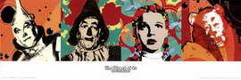 The Wizard of Oz - 36 x 12 Movie Poster - Style A