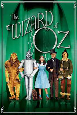 The Wizard of Oz - 27 x 40 Movie Poster - Style L