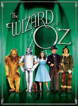 The Wizard of Oz - 43 x 62 Movie Poster - Bus Shelter Style F