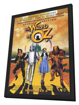 The Wizard of Oz - 11 x 17 Movie Poster - Style A - in Deluxe Wood Frame
