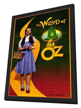 The Wizard of Oz - 11 x 17 Movie Poster - Style D - in Deluxe Wood Frame