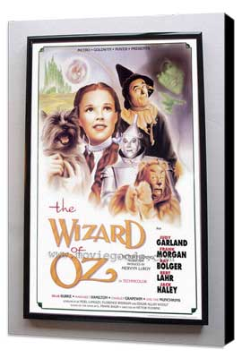 The Wizard of Oz - 11 x 17 Poster + Aluminum Frame - Museum Wrapped Canvas