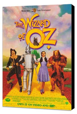 The Wizard of Oz - 27 x 40 Movie Poster - Style A - Museum Wrapped Canvas