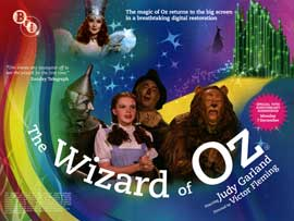 The Wizard of Oz - British Quad 30 x 40 - Style A