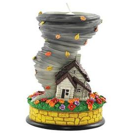 The Wizard of Oz - Dorothy's House and Tornado Tealight Holder