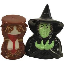 The Wizard of Oz - Wicked Witch & Hourglass Salt & Pepper Shakers