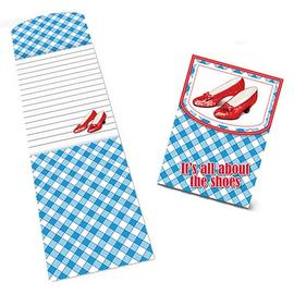 The Wizard of Oz - All About the Shoes Magnetic Notepad