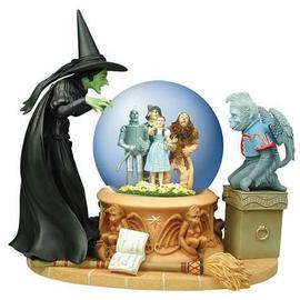 The Wizard of Oz - Wicked Witch Crystal Ball Water Globe