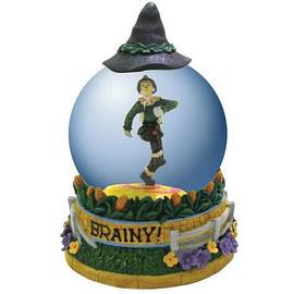 The Wizard of Oz - Scarecrow Brainy Water Globe