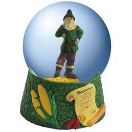 The Wizard of Oz - Scarecrow Diploma Water Globe