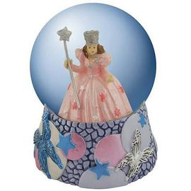 The Wizard of Oz - Glinda Butterflies Water Globe