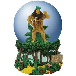 The Wizard of Oz - Cowardly Lion Musical Water Globe