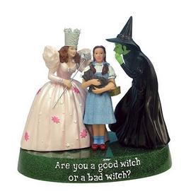 The Wizard of Oz - Good Witch or Bad Witch Statue