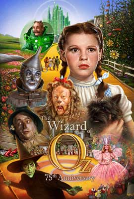 The Wizard of Oz - 27 x 40 Movie Poster - International Style A
