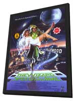 The Wizard of Speed and Time - 11 x 17 Movie Poster - Style A - in Deluxe Wood Frame