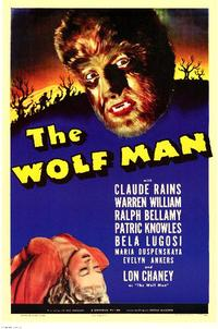 The Wolf Man - 11 x 17 Movie Poster - Style A